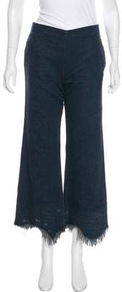 Rachel Comey Distressed High-Rise Jeans