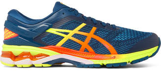 Asics Gel-kayano 26 Rubber-trimmed Mesh Running Sneakers - Blue