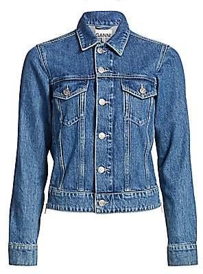 Ganni Women's Suit Denim Jacket