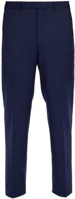 Ermenegildo Zegna Straight-leg wool trousers