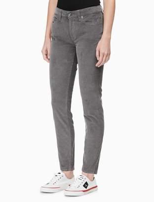 Calvin Klein CKJ 011 skinny mid rise corduroy jeans