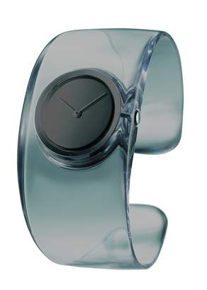 Issey Miyake O Women's Quartz Watch with Dial Analogue Display and Resin Bangle SILAW002