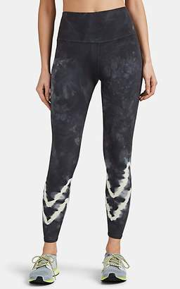 Electric & Rose Women's Sunset Tie-Dyed Stretch-Cotton Leggings - Gray