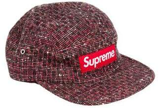 Supreme Bright Tweed Camp Cap