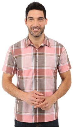 Perry Ellis Large Chambray Plaid Shirt $39.99 thestylecure.com