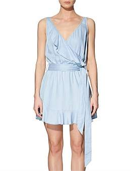 GUESS Sl Gianna Ruffle Dress