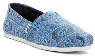 Toms Classic Alpargata Printed Slip-On Shoe