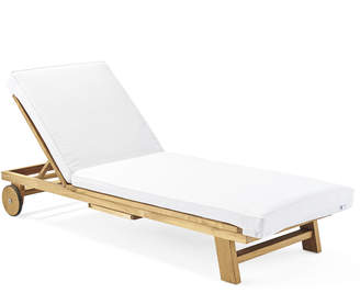 ... Serena U0026 Lily Crosby Teak Chaise Replacement Cushion