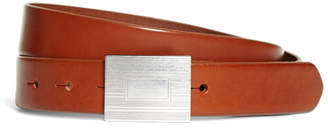 Brooks Brothers Plaque Buckle Belt