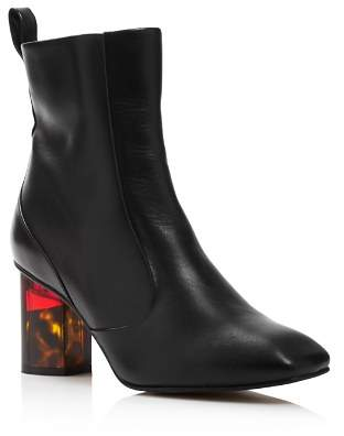Kurt Geiger Women's Stride 70 Leather Ankle Booties