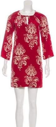Nili Lotan Mini Long Sleeve Dress