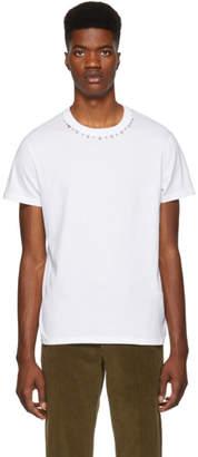 Valentino White Spikes T-Shirt
