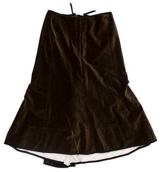 Easton Pearson Velvet Lace-Up Dress