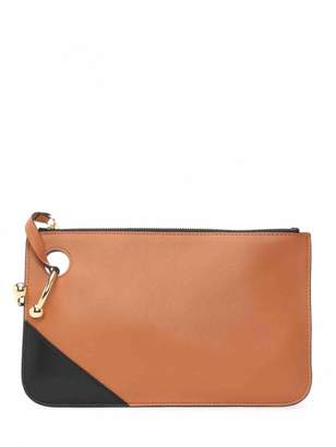 J.W.Anderson Camel Leather Clutch Bag