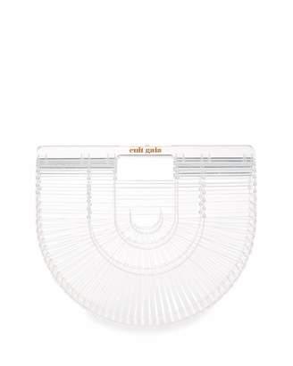 Cult Gaia Acrylic Ark Small Clutch Bag