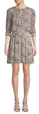 Zadig & Voltaire Remus Floral Mini Dress