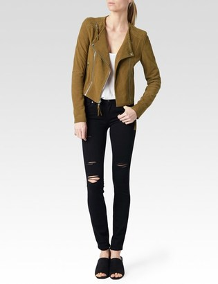 Tiana Jacket - Saddle Brown Suede $895 thestylecure.com