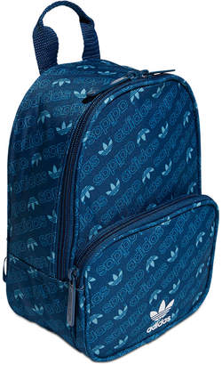 adidas Santiago Logo-Print Mini Backpack