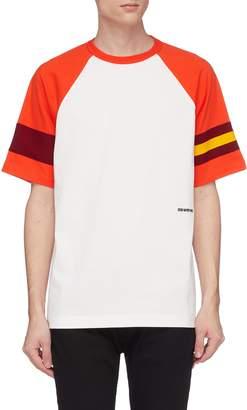 Calvin Klein Colourblock raglan sleeve T-shirt