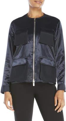 pink tartan Utility Jacket $495 thestylecure.com