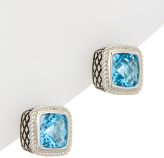Candela Andrea Sterling Silver Gemstone Earrings
