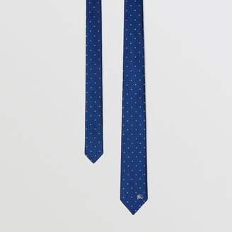 Burberry Modern Cut Pin Dot Silk Tie