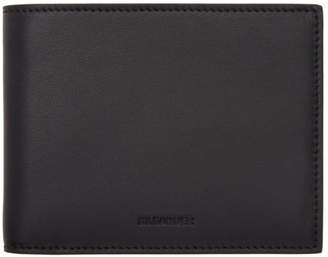 Jil Sander Black Pocket Wallet