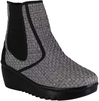 Heal Mid-Heel Wedge Ankle Boots - Audrey