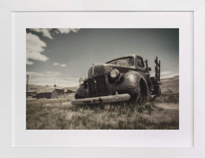 Cars of Bodie, CA :: III Art Print