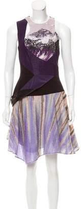 Prabal Gurung Jacquard Sleeveless Dress