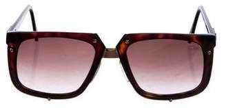 Cazal Embellished Oversize Sunglasses