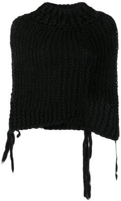 Masnada cropped knit sweater