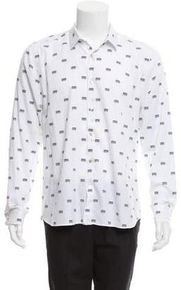 Paul Smith Radio Button-Up Shirt
