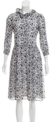Rebecca Minkoff Printed Midi Dress