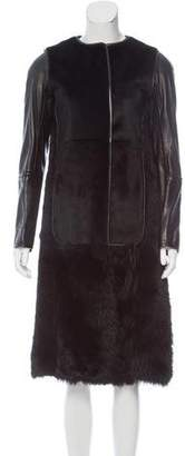 Reed Krakoff Shearling Long Coat