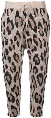 R 13 Leopard print pants