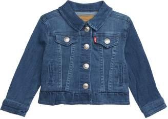Levi's Ruffle Trucker Jacket