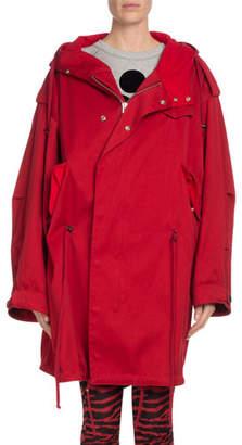 Etoile Isabel Marant Duffy Hooded Oversized Coat