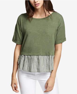 Sanctuary Skye Lace-Up-Back T-Shirt