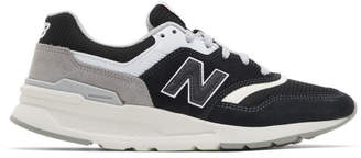 New Balance Black and Grey 997H Sneakers