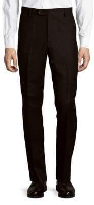 Saks Fifth Avenue Solid Wool Pants