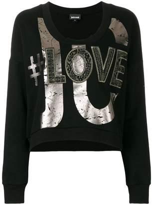 Just Cavalli printed sweatshirt