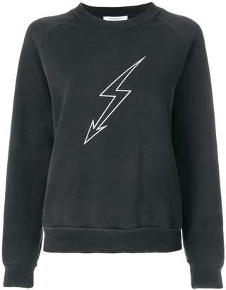 Givenchy lightening bolt sweatshirt
