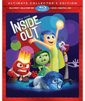 Disney PIXAR Inside Out Ultimate Collector's Edition 3D Combo Pack