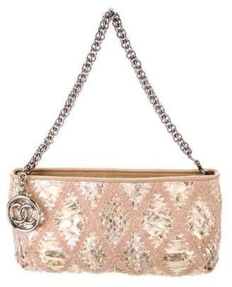 Chanel Python Soft & Chain Handle Bag
