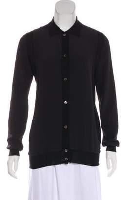 Marni Cashmere & Silk Knit Cardigan Black Cashmere & Silk Knit Cardigan
