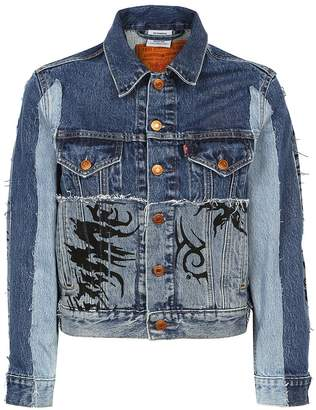 Vetements Tribal Denim Jacket