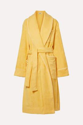 Sleepy Jones - Altman Cotton-terry Robe - Yellow