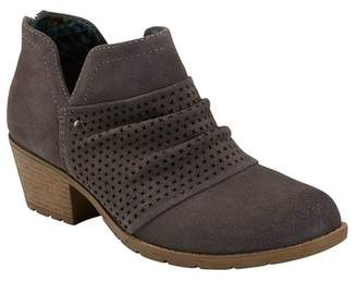 Earth Amanda Suede Ruched Boot - Wide Width