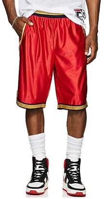 Fila Men's Fluid Twill Basketball Shorts - Red Size M